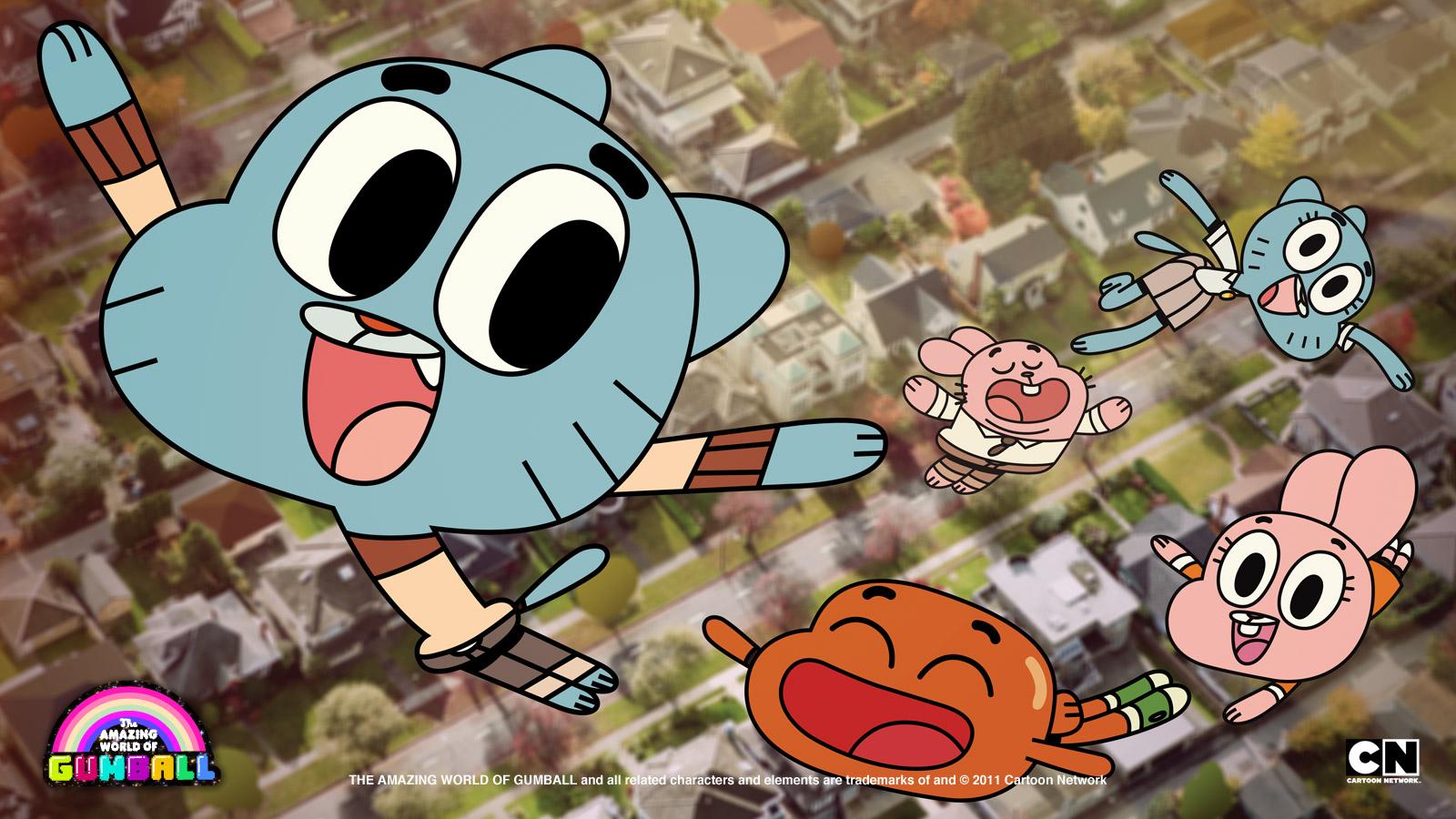Juegos Del Increible Mundo De Gumball De Cartoon  Apps Directories