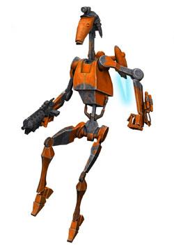 Battle droids - The Clone Wars