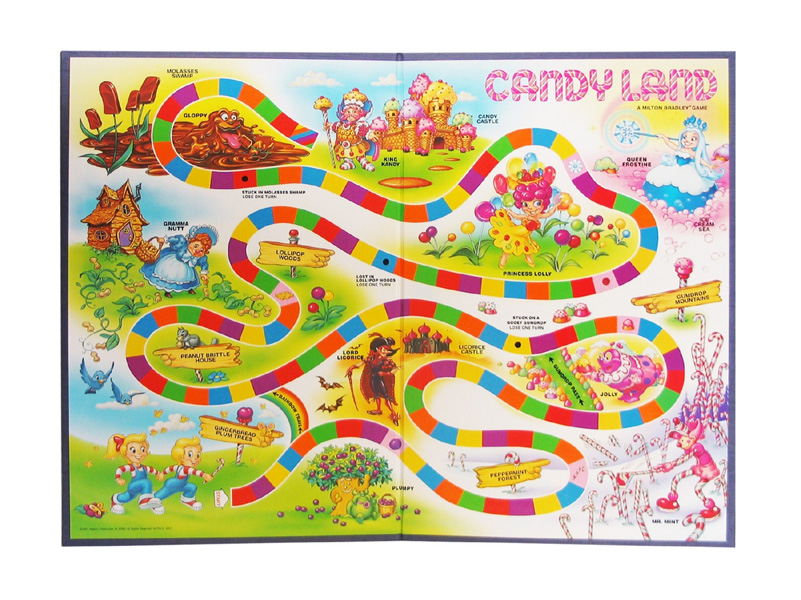 Image - Candyland Game Board.jpg - The Hunger Games Wiki