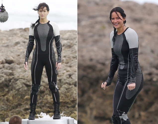 parts belief interesting dystopian future main draw jennifer lawrence outfit