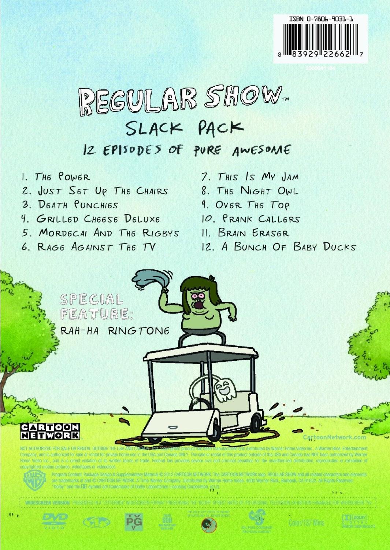 Regular Show Slack Pack DVD 918RNqgLw%2BL_AA1500_