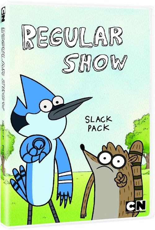 Regular Show Slack Pack DVD RegularShow_SlackPack