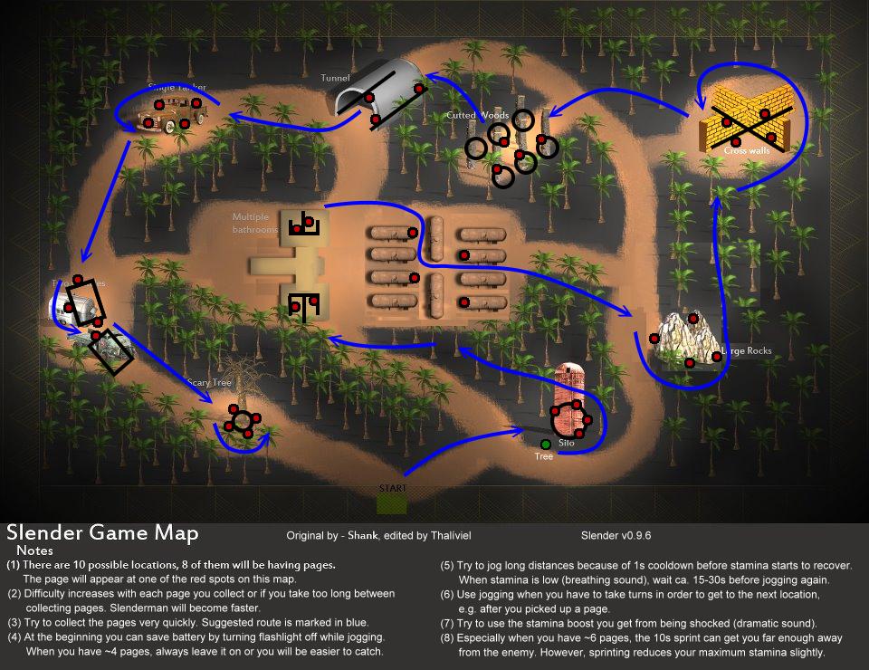 mapas de slenderman
