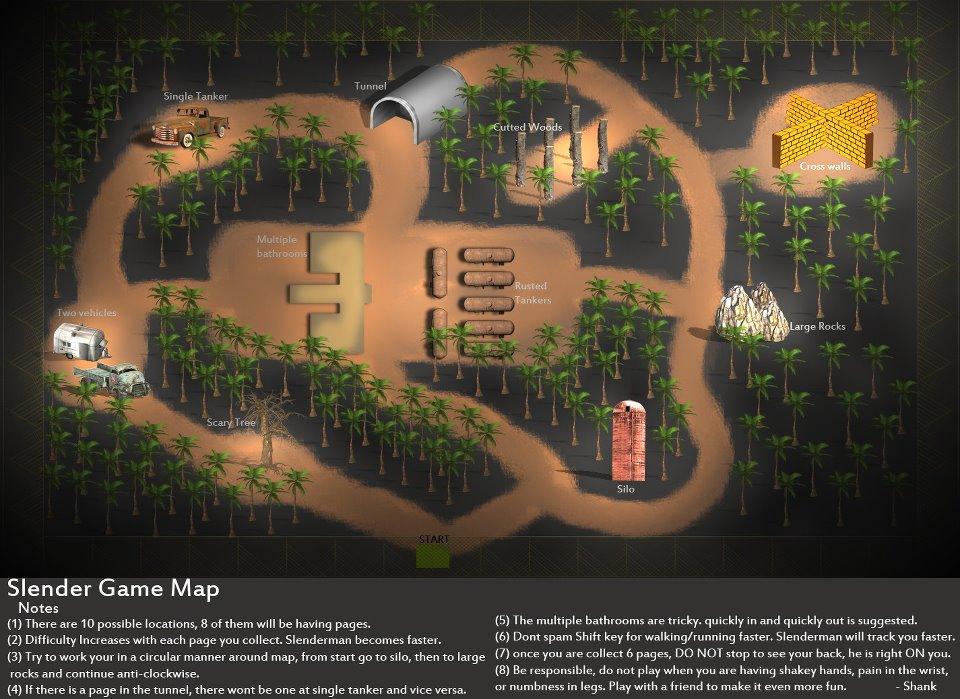 Mapas - Slender - Todas sus versiones !