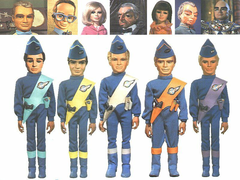 Thunderbirds (the), les sentinelles de l'air. Thunderbirds_Cast