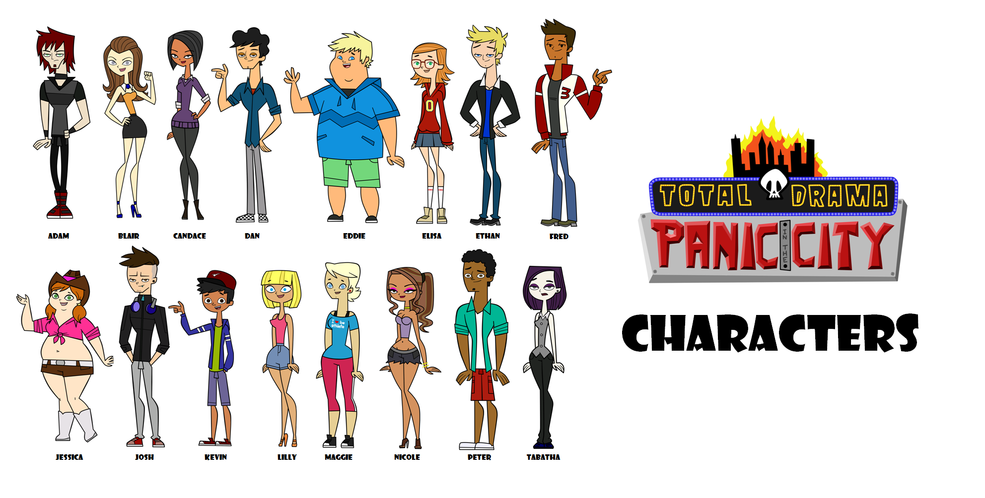 total drama all characters porn