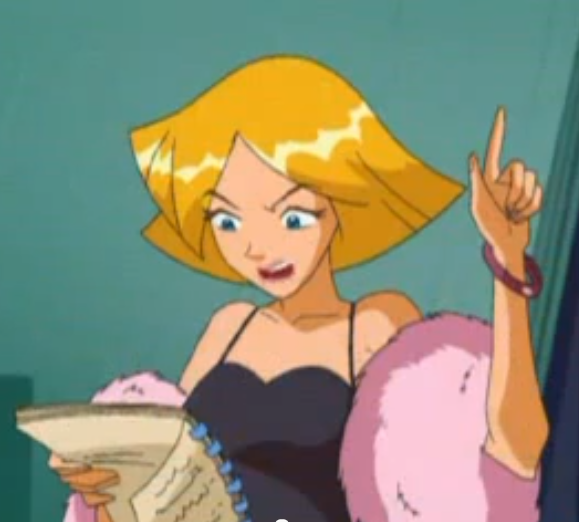 Image clover hold totally spies wiki - Clover totally spies ...