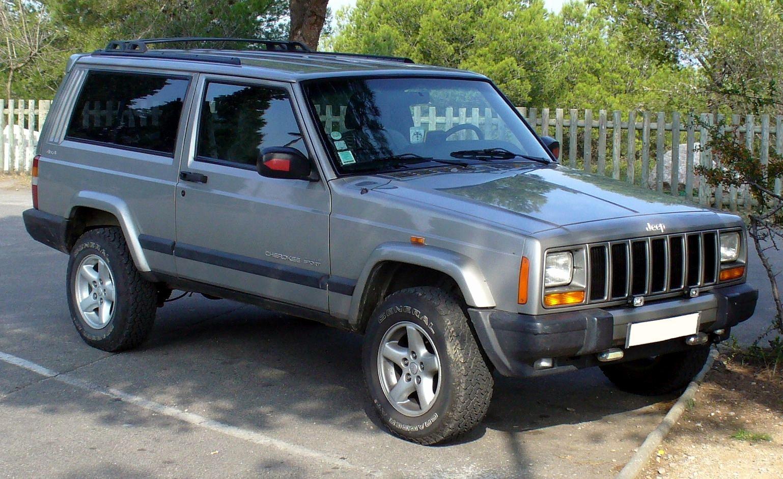 Jeep Cherokee (XJ) - Tractor
