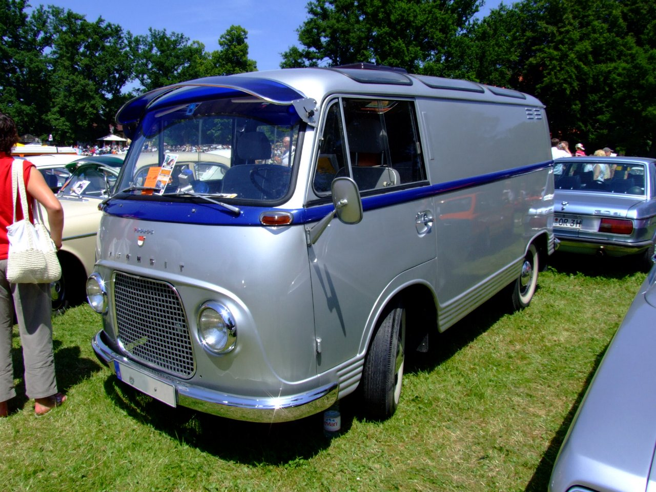 The first Ford Transit