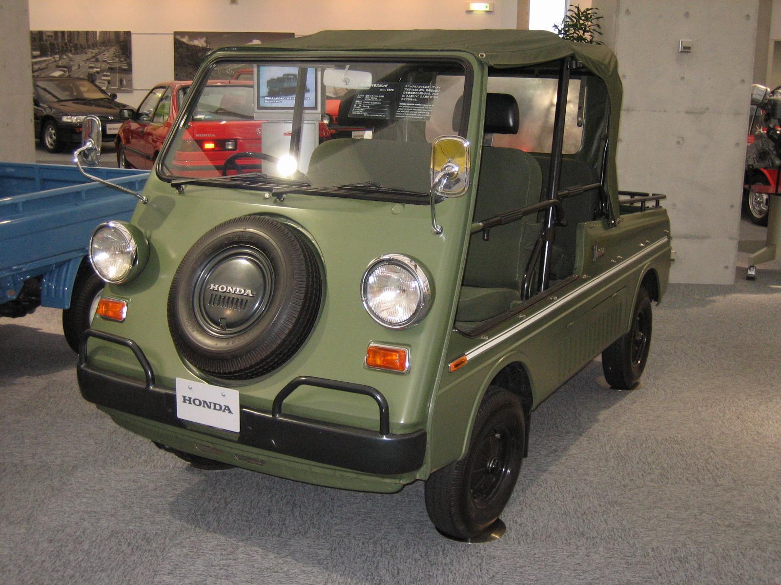 Honda Vamos - Tractor
