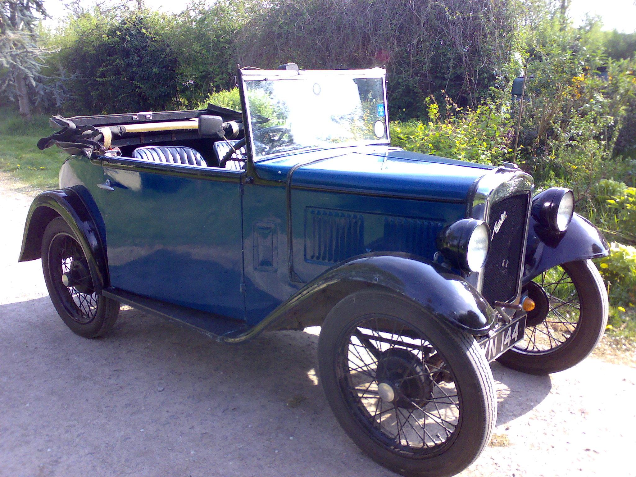 Austin 7 - Tractor