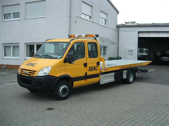 iveco eurocargo 4x4. Iveco Daily - Tractor