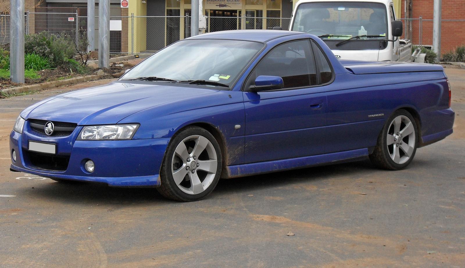 2006 Holden VZ Ute Thunder S