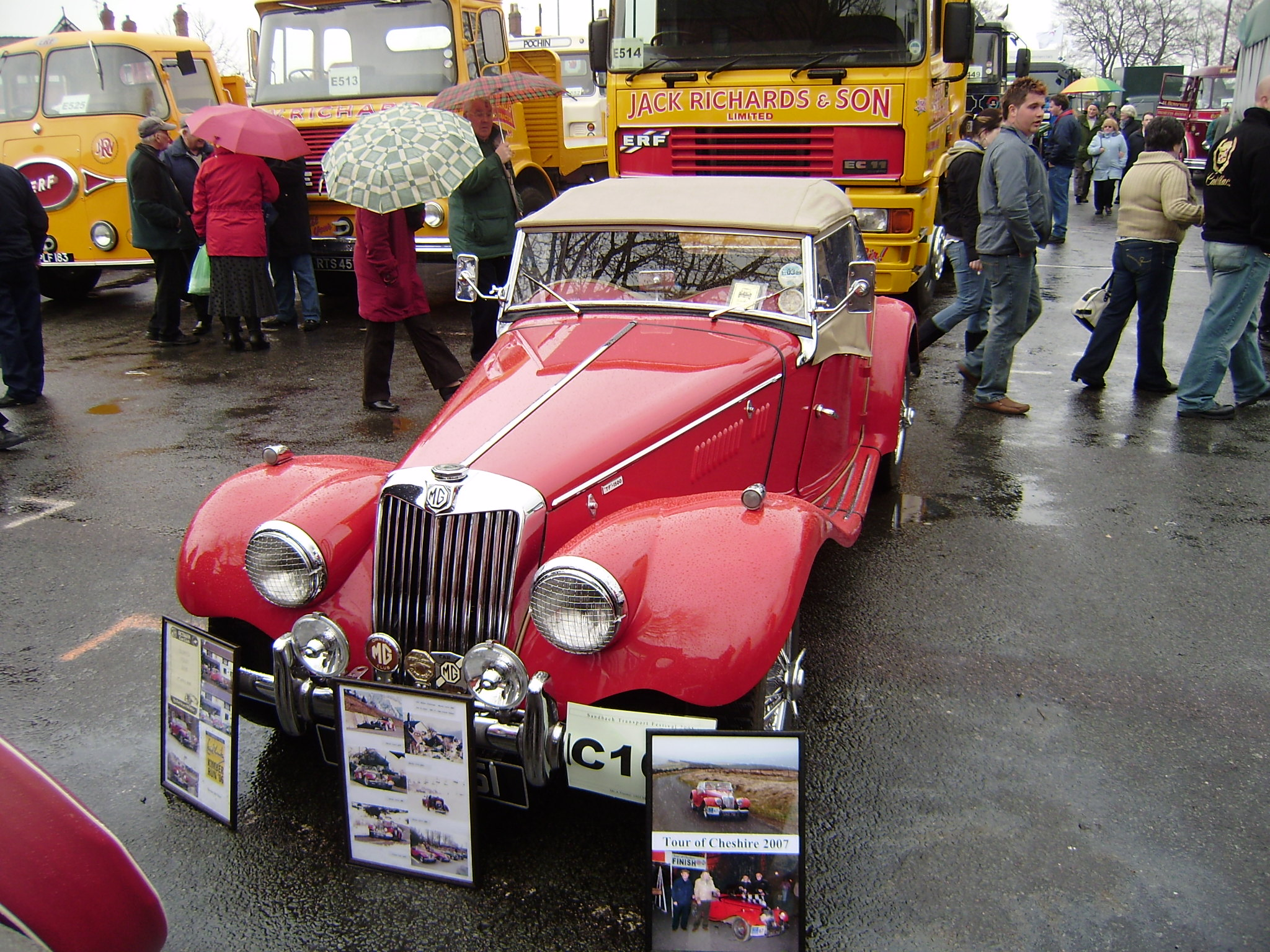 MG TF 1500 · Sports Car, owner