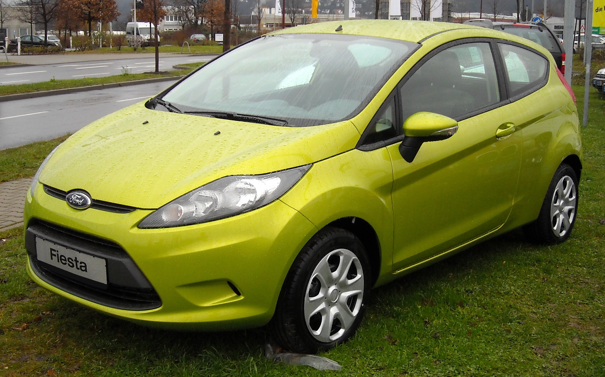 Ford Fiesta sixth generation