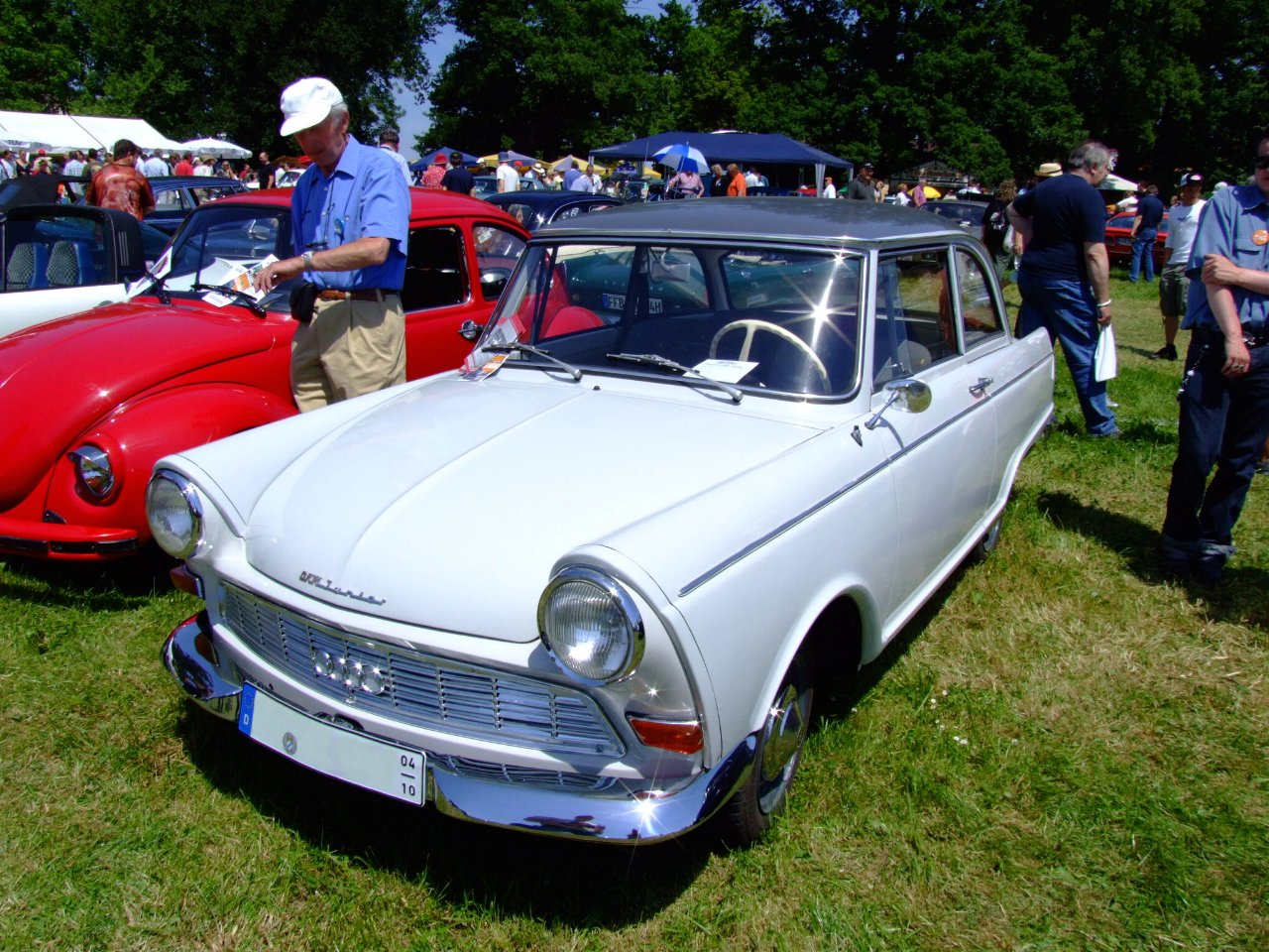 The car was first produced by
