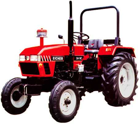 Image eicher 364 nc tractor construction for Eicher motors share price forecast