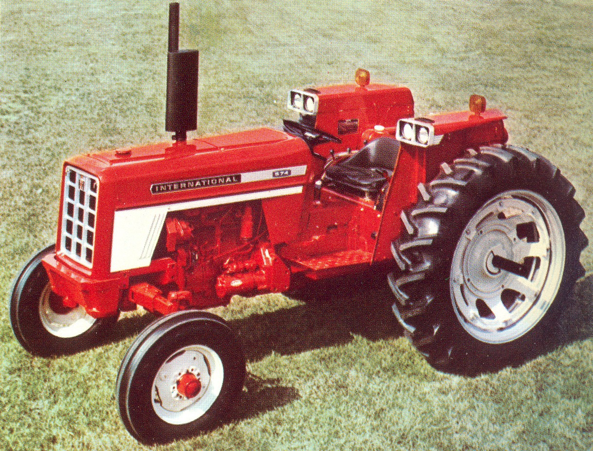1970 574 International Tractors : Image international row crop g tractor