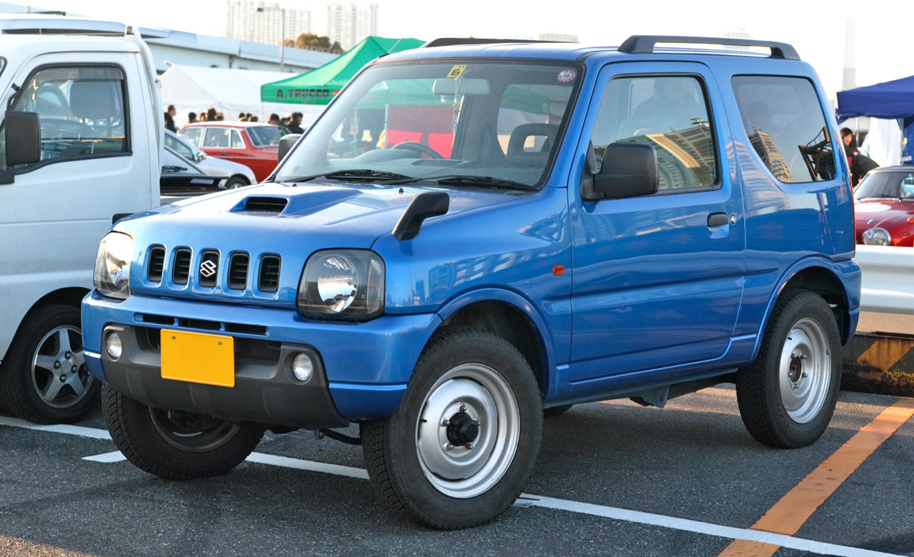 Suzuki Jimny - Tractor & Construction Plant Wiki - The classic vehicle ...