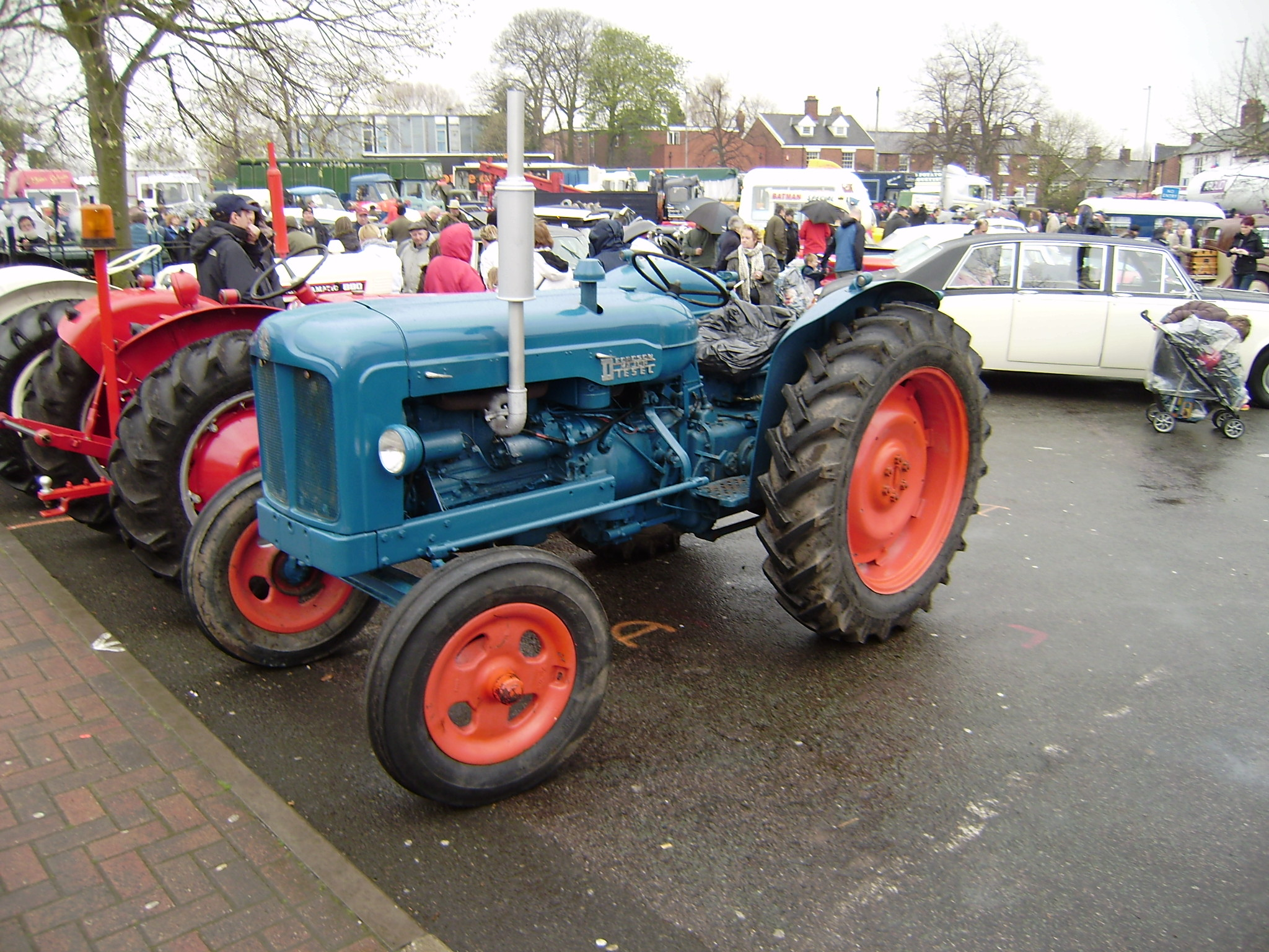 Fordson Major · Tractor, owner