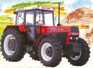 Image - Crystal Zetor 12245 MFWD-1990.jpg - Tractor & Construction ...