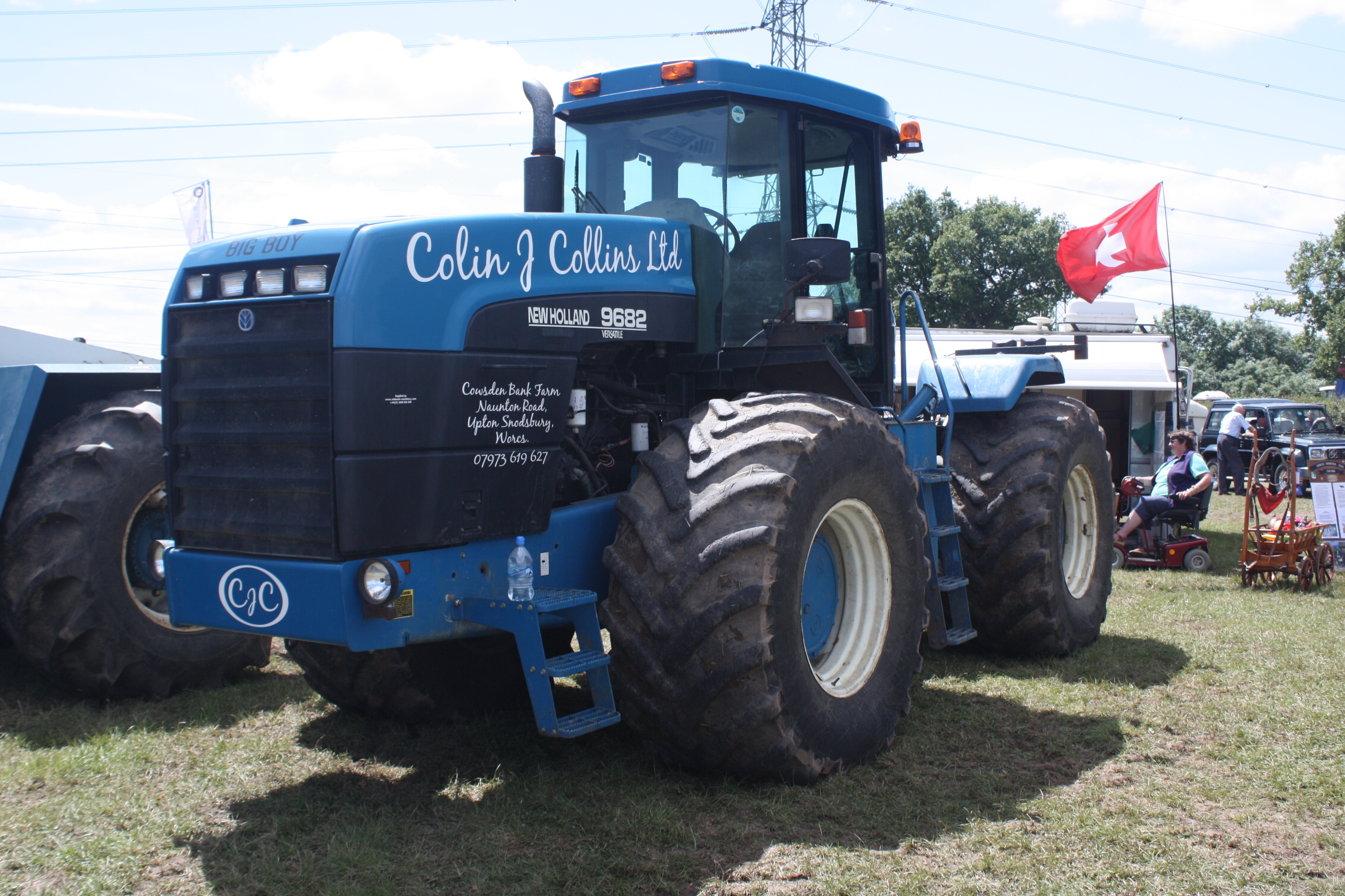New Holland 9682 - Tractor