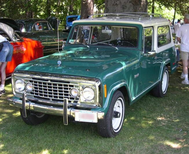 1971 Jeepster Commando in