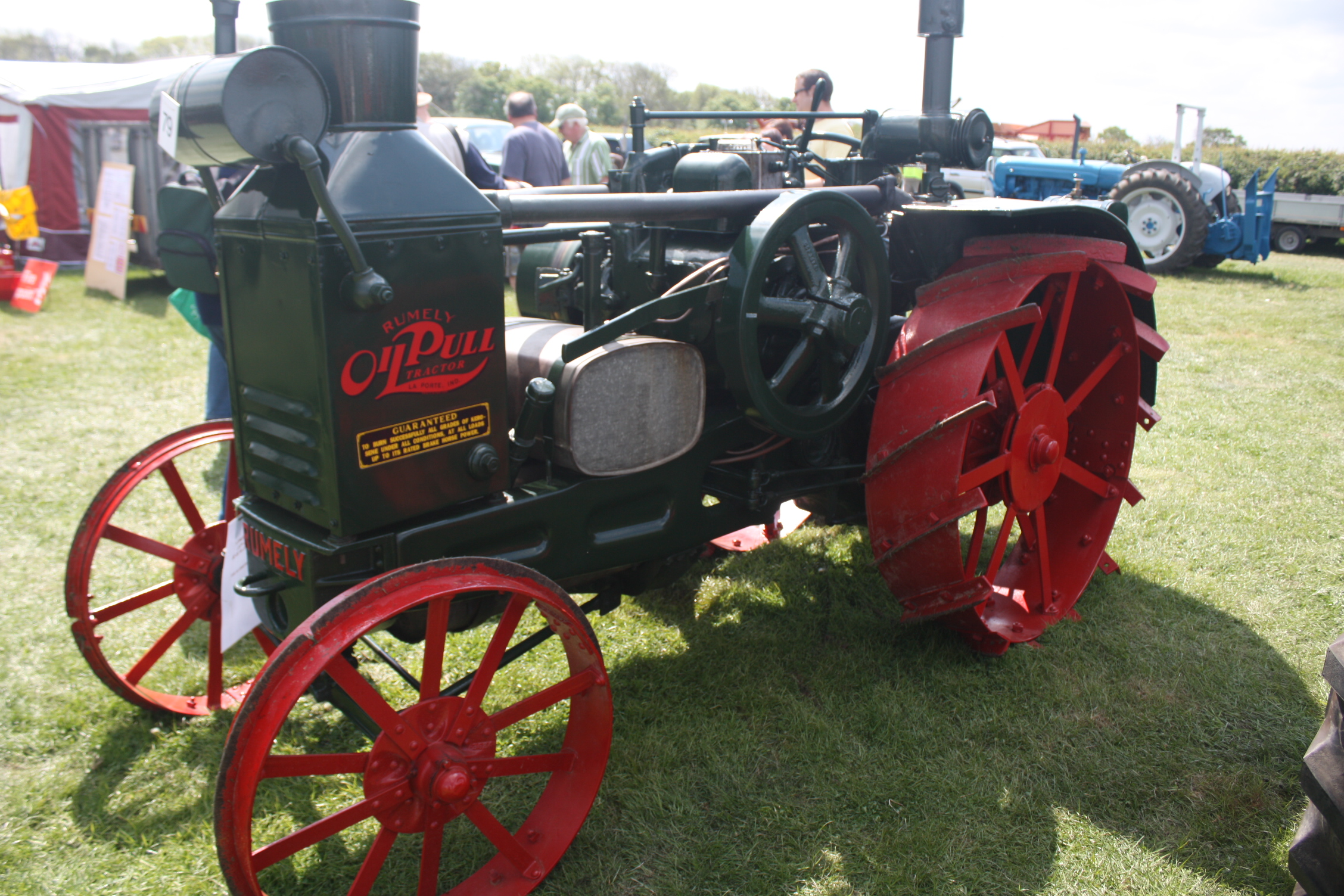 Rumely OilPull's were a line