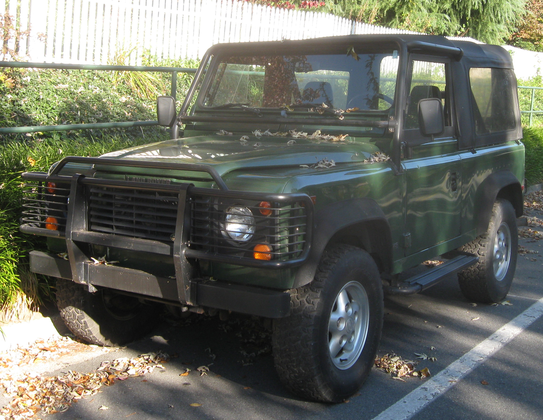 Defender in the USA Edit
