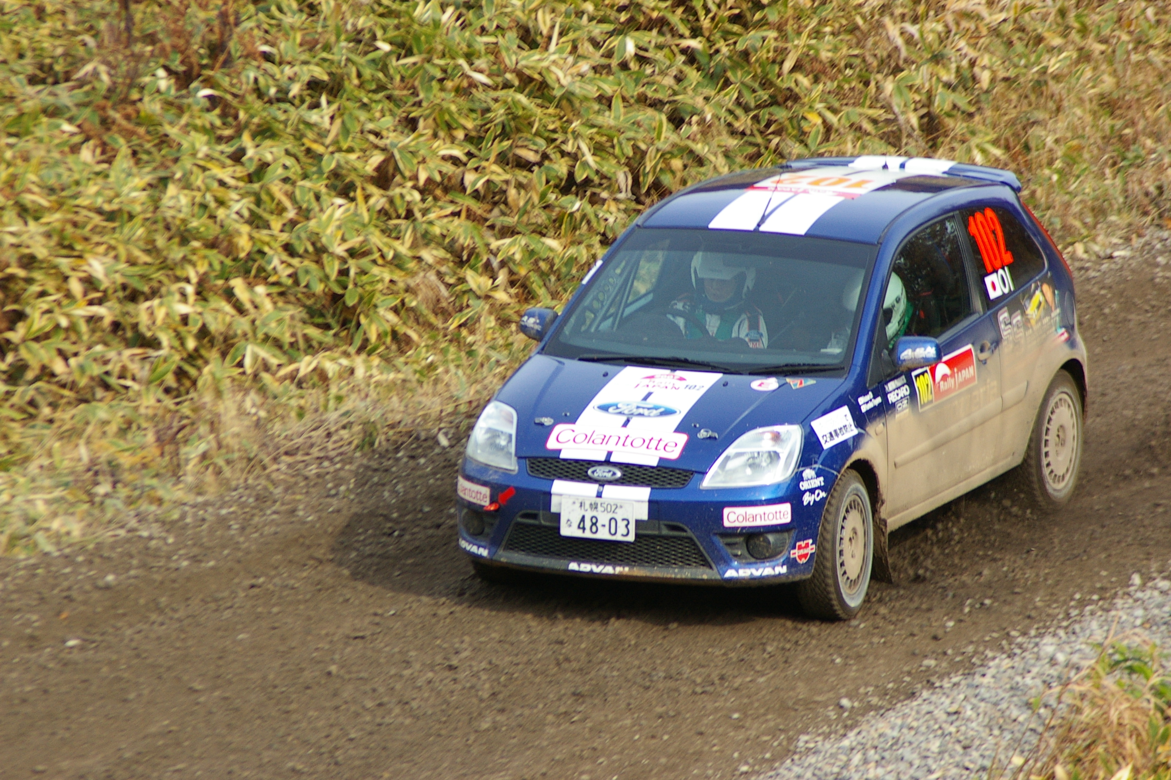 Ford Fiesta Rally car Group N