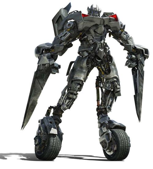 Transformers 2 toys sideswipe