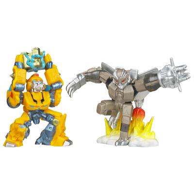 transformers dark of the moon bumblebee toy. Bumblebee vs.