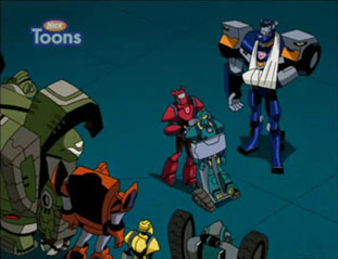 Autoboot Camp - Teletraan I: the Transformers Wiki - War for ...