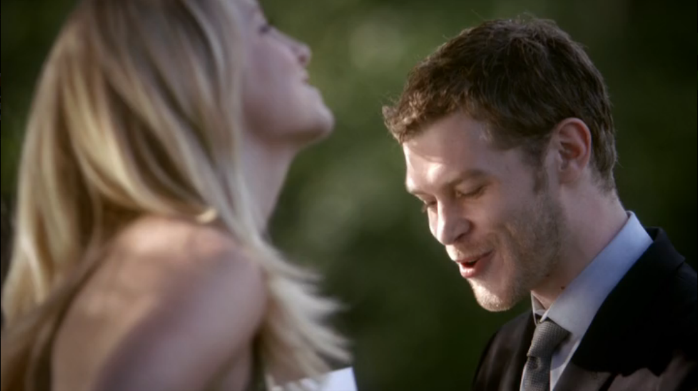 Image - Klaus and caroline laughing together.png - The ...