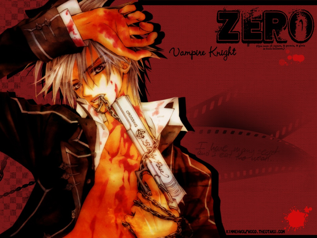 Image - Zero Kiryu wallpaper.jpg - Vampire Knight Wiki