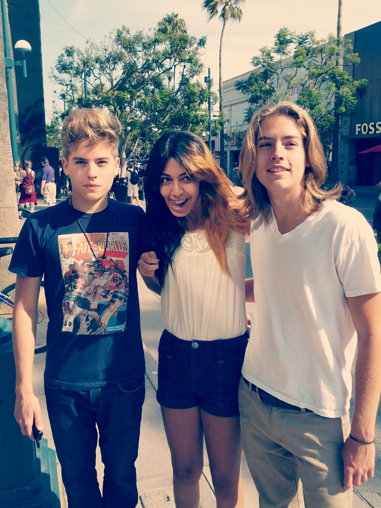 Dylan and Cole Sprouse 2013