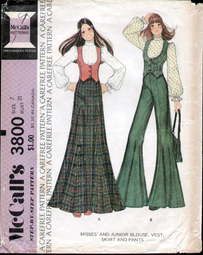 Boho Hippie tiered ruffle Skirt McCalls 5812 Sewing Pattern Plus