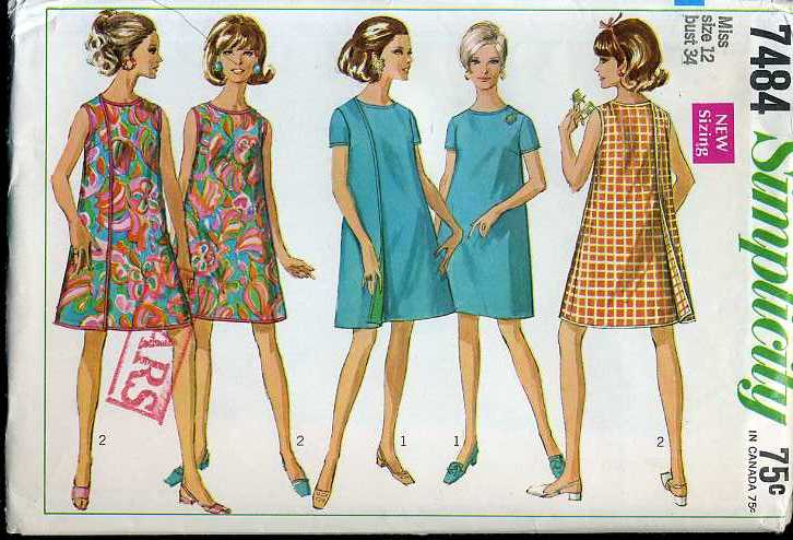 Sewing Patterns Including Simplicity, Kwik Sew and Folkwear.