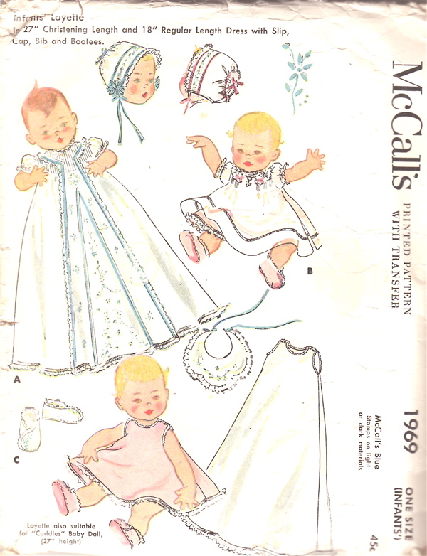 Heirloom Christening Gown Patterns - ChristeningShop.com