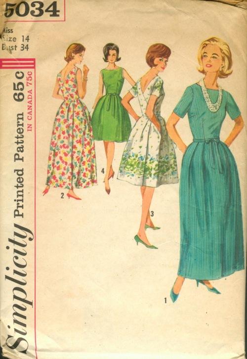 1960s  misses wrap around