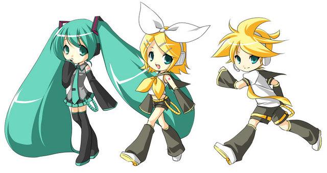 *¬* exijo mi rol con Len-kun~ los demás también por si quieren ;3 - Página 2 Rin_len_miku