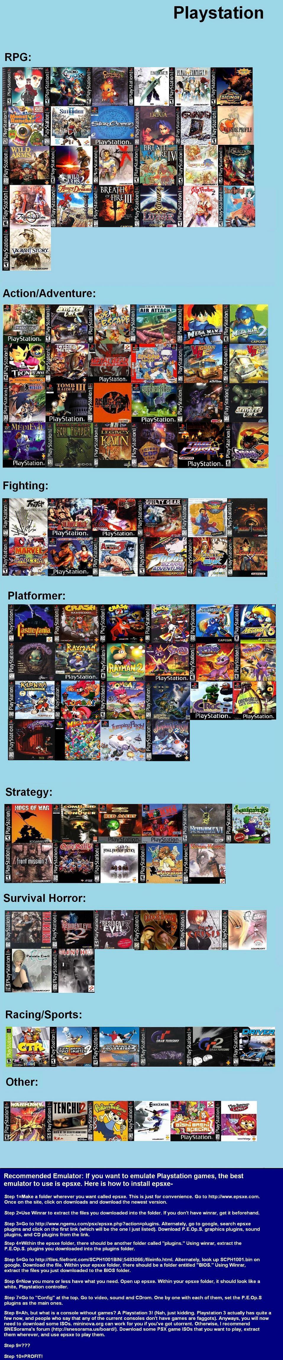 V Recommended Games