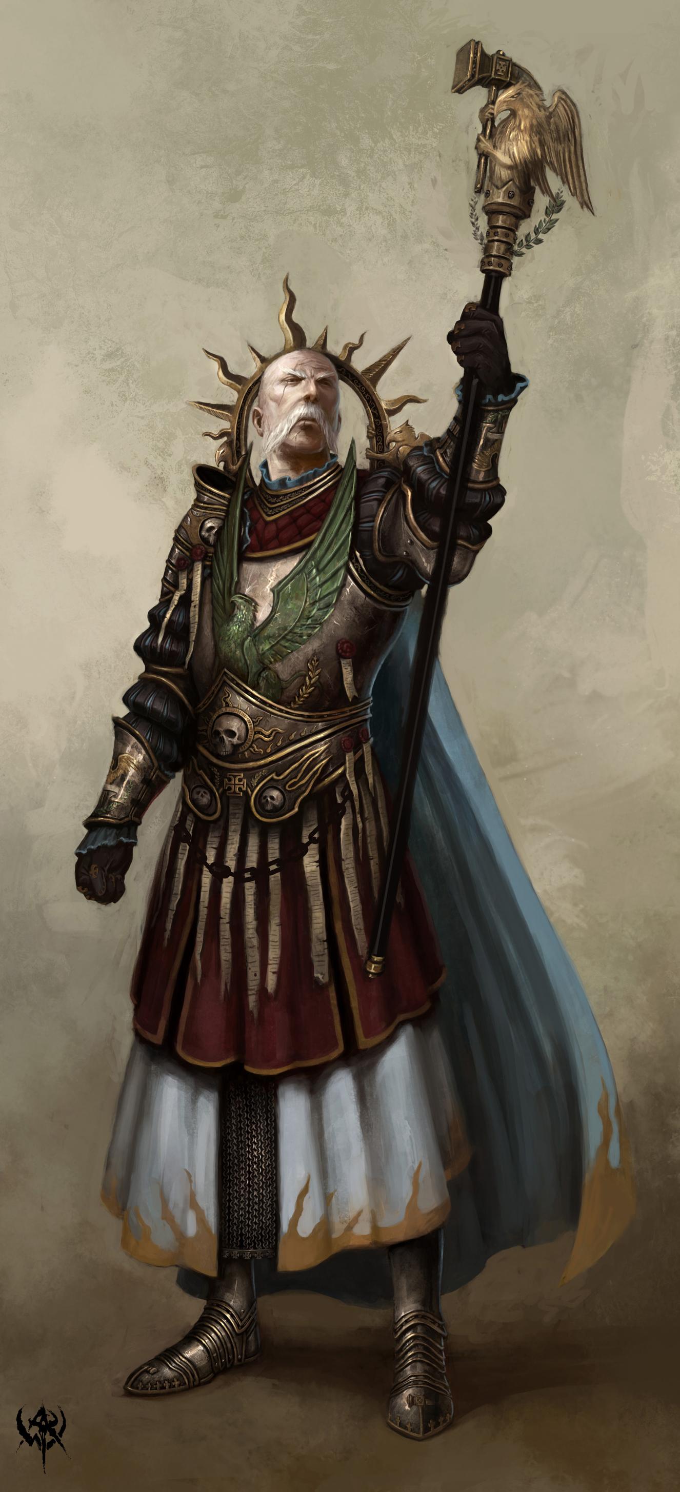 White Dwarf Manfred Von Paint Job