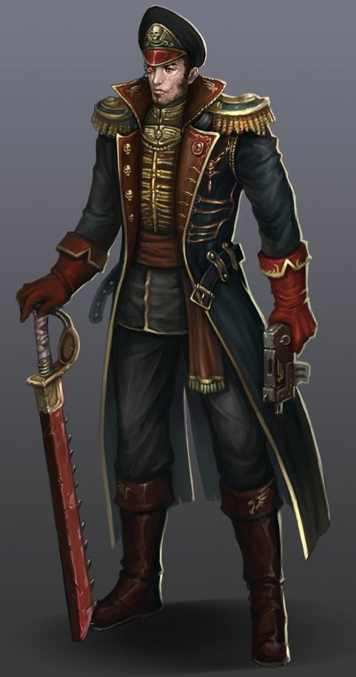 Commisar from the Warhammer 40k Wiki