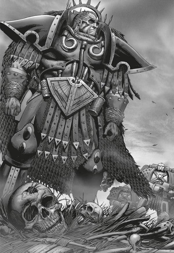 [W30K] Legiones Astartes XII : World Eaters Angron_Mourning
