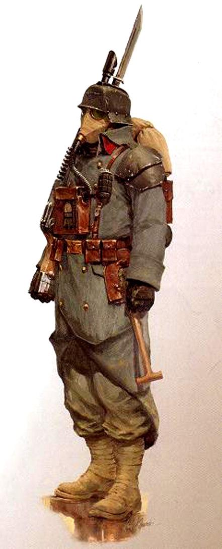 The Extraterrestrial Legion Krieg_Soldat