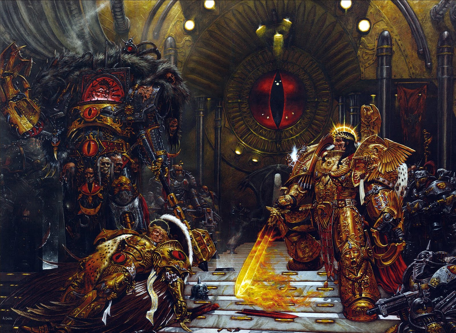 Emperor of Mankind - Warhammer 40K Wiki - Space Marines, Chaos ...