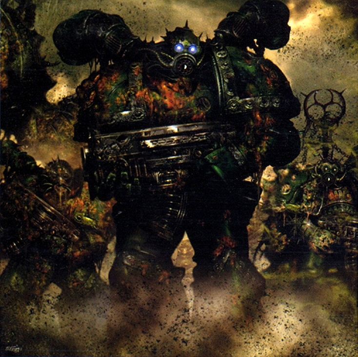 Warhammer 40K Plague Marines