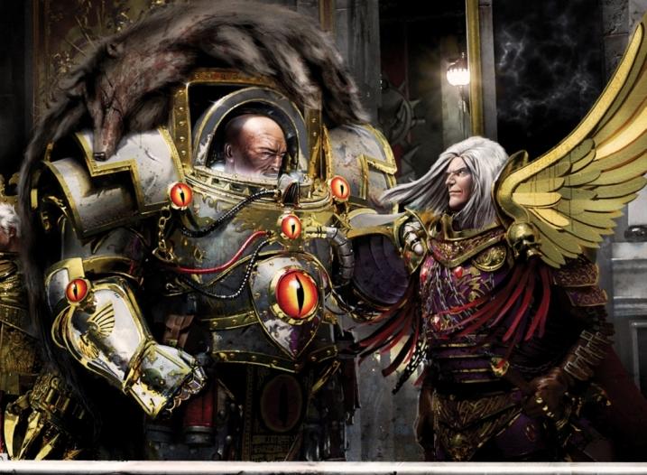 warhammer 40k primarch
