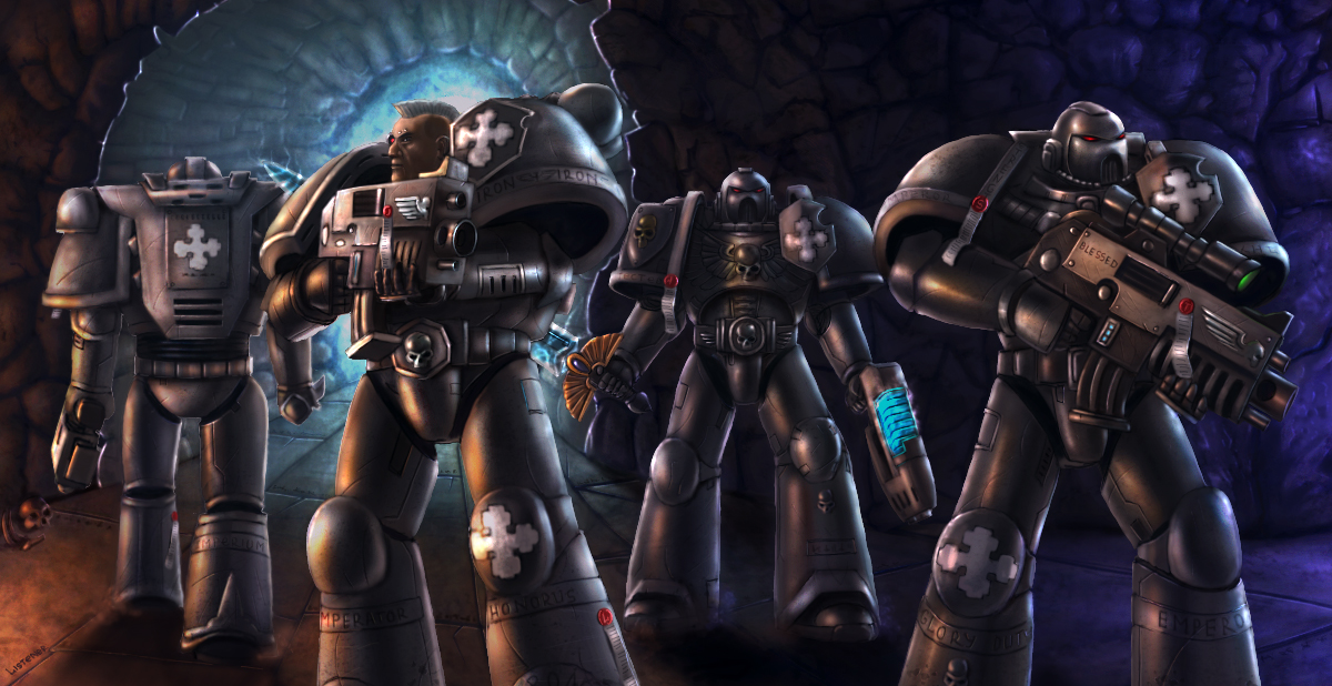 [W40K] Collection d'images : Space Marines - Page 3 Iron_Knights_Squad